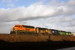BNSF 8046 BNSF 8713 MRL 325 FURX 7246